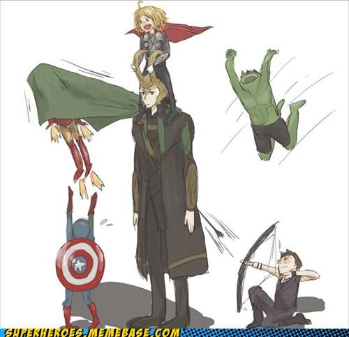 Avengers: Kickin' It Baby Style